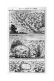 Lake Geology, 1678 Giclee Print by Athanasius Kircher