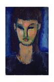 Young Woman, C1910 Reproduction procédé giclée par Amadeo Modigliani