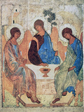 The Trinity of Roublev, C1411 Reproduction procédé giclée par Andrey Rublyov