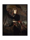 Napoleon Bonaparte on the Bridge at Arcole, 1797 Giclee Print by Antoine-Jean Gros