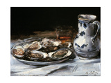 Still Life with Oysters, 19th Century Giclee Print by Antoine Vollon