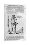 Antediluvian Giants, 1678 Giclee Print by Athanasius Kircher