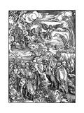 The Babylonian Whore, 1498 Reproduction procédé giclée par Albrecht Durer