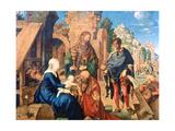 The Adoration of the Magi, 1504 Reproduction procédé giclée par Albrecht Durer
