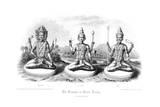 The Trimurti or Hindu Trinity Lámina giclée por Andrew Thomas