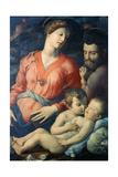 The Panciatichi Holy Family, 1530-1532 Giclée-tryk af Agnolo Bronzino