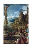 The Rest on the Flight into Egypt, 1510 Giclee Print by Albrecht Altdorfer