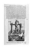 Hydraulic Machine IV, 1678 Giclee Print by Athanasius Kircher