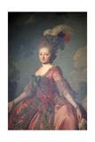 Portrait of the Grand Duchess Maria Feodorovna, 1777 Giclee Print by Alexander Roslin