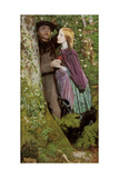 The Long Engagement, 1859 Giclee Print by Arthur Hughes