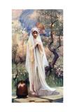 The Annunciation, 1926 Giclée-tryk af Arthur Hacker
