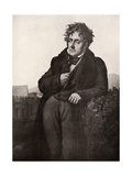 Francois-Rene, Vicomte De Chateaubriand, French Writer and Diplomat, Early 19th Century Giclée-tryk af Anne-Louis Girodet de Roussy-Trioson