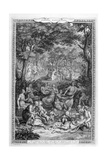 Poetry Pastorales, 1728-1729 Giclee Print by Bernard Picart