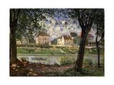 Villeneuve-La-Garenne (Village on the Sein), 1872 Giclee Print by Alfred Sisley