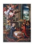The Nativity, C1500-1550 Giclée-Druck von Ambrosius Benson