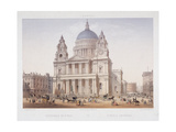 St Paul's Cathedral, London, C1855 Giclee Print by Charles Riviere