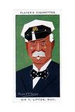 Sir Thomas Johnstone Lipton, 1st Baronet, British Grocer and Yachtsman, 1926 Giclée-Druck von Alick PF Ritchie