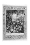 Scene of Hell, 1733 Giclee Print by Bernard Picart