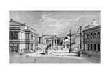 North and East Sides of the Forum, Rome Giclée-Druck von C Hulsen