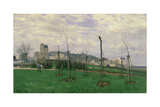 View of Montmartre from the Cité Des Fleurs, 1869 Giclee Print by Alfred Sisley