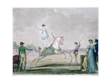 Exercises of the Circus Horse, C1818-1836 Giclée-Druck von Antoine Charles Horace Vernet