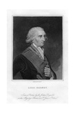 Admiral George Brydges Rodney (1719-179), 1st Baron Rodney, 19th Century Giclee Print by E Scriven