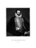 Sir Christopher Hatton, English Politician Giclee Print by E Scriven