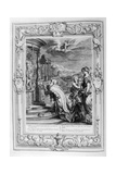 Oeneus, King of Calydon.. Is Punished for His Impiety, 1733 Giclee Print by Bernard Picart