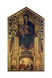 The Madonna in Majesty, 1285-1286 Giclée-tryk af  Cimabue