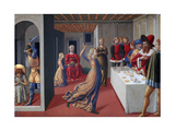 The Feast of Herod and the Beheading of Saint John the Baptist, 1461-1462 Giclée-tryk af Benozzo Gozzoli