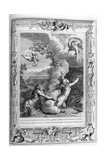 Arethusa Pursued by Alpheus and Turned into a Fountain, 1733 Giclee Print by Bernard Picart