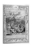 Apollo and Diana Kill Niobe's Children with their Arrows, 1733 Giclee Print by Bernard Picart