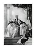 George V, 1924 Giclée-tryk af Charles Sims