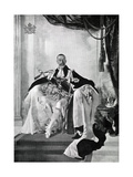 George V, 1924 Giclee Print by Charles Sims