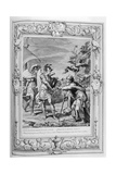 Phineus Is Delivered from the Harpies by Calais and Zethes, 1733 Giclee Print by Bernard Picart