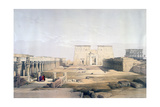 Grand Approach to the Temple of Philae, Nubia, 19th Century Giclee Print by David Roberts