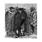 Spaniards Giclee Print by Constantin Guys