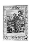 Acteon Turn'D into a Stag, and Devour'D by His Dogs, 1733 Giclee Print by Bernard Picart