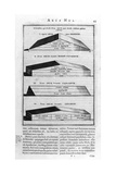 Description of the Ark, 1675 Giclee Print by Athanasius Kircher