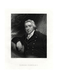 Edward Jenner, English Country Doctor, 19th Century Giclee Print by E Scriven