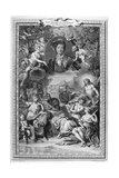 Bernard De Fontenelle, 1728-1729 Giclee Print by Bernard Picart