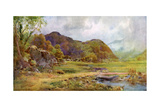 On the Marsh Near Lodore, Cumberland, 1924-1926 Giclee Print by Cuthbert Rigby