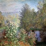 Corner of the Garden at Montgeron, C1876 Giclée-Druck von Claude Monet