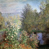 Corner of the Garden at Montgeron, C1876 Giclee Print by Claude Monet