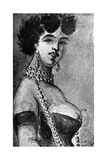 Woman, 19th Century Giclee Print by Constantin Guys