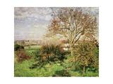 Autumn Morning at Èragny, 1897 Reproduction procédé giclée par Camille Pissarro