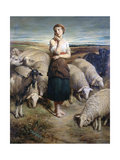 Saint Genevieve, C1810-1880 Giclee Print by Charles-Emile-Callande de Champmartin