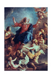 The Assumption of the Virgin, 17th-Early 18th Century Giclee Print by Charles de La Fosse