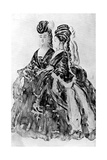 Two Ladies Giclee Print by Constantin Guys