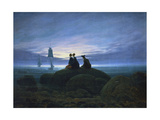 Moonrise over the Sea, 1774 Giclée-vedos tekijänä Caspar David Friedrich